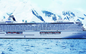 The Crystal Serenity to Navigate Luxury Passengers Through the Arctic Northwest Passage