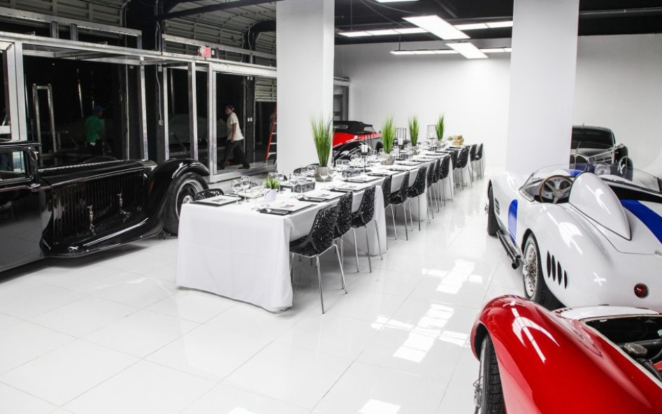 Miami Fine Dining Meets Automotive Art: Miami Supercar Rooms