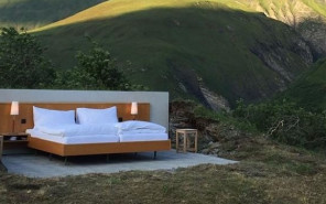 The Null Stern Hotel Features Open-Air Hotel Rooms