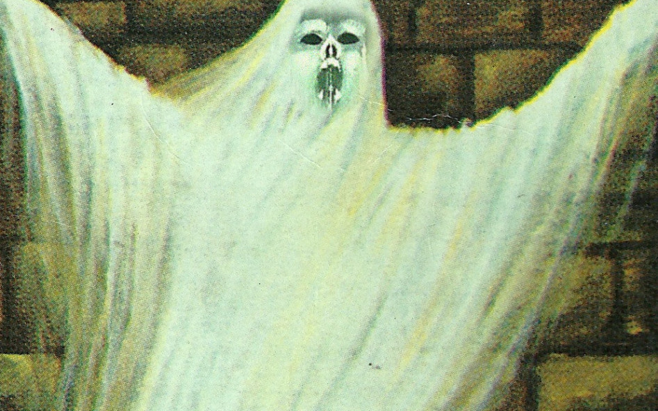 How the god you worship influences the ghosts you see