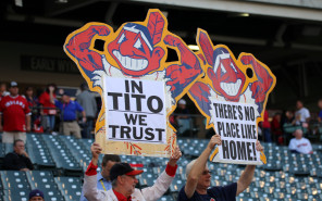 The Cleveland Indians' Chief Wahoo isn't going away anytime soon